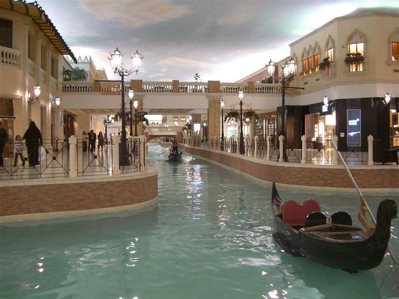 Villagio Shopping Mall, Doha, Qatar: inspired by Venice