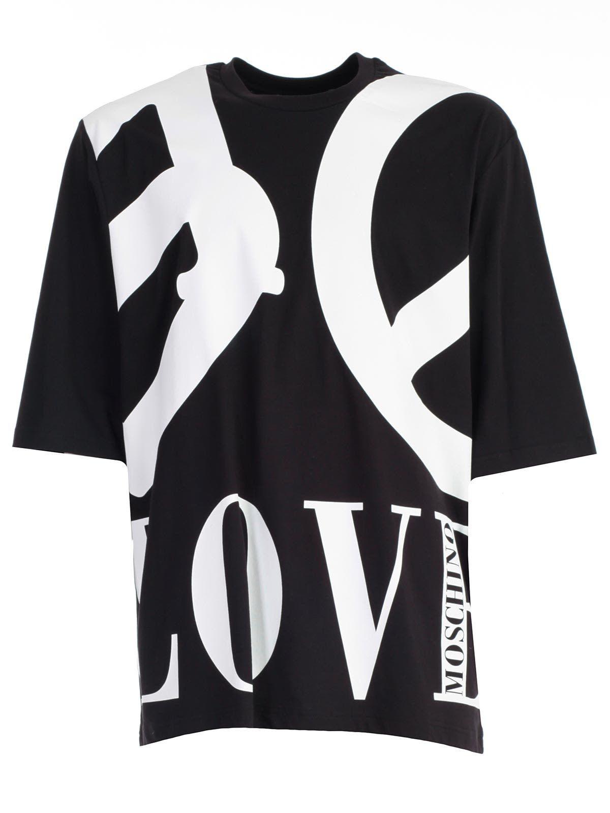 Love Moschino T Shirt Lovemoschino Cloth Moschino T Shirt Black