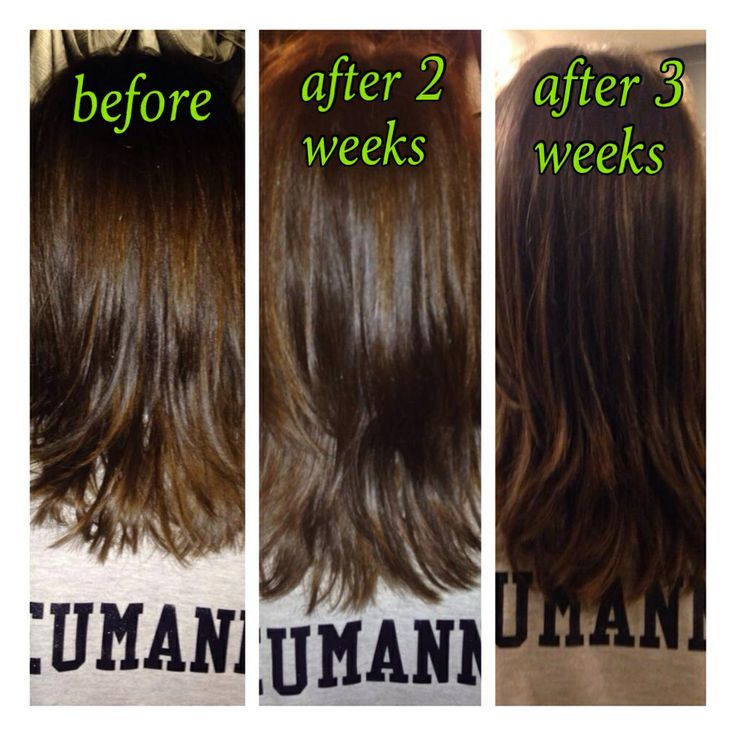 Results after using it works hair, skin, nails vitamins for 2 ...