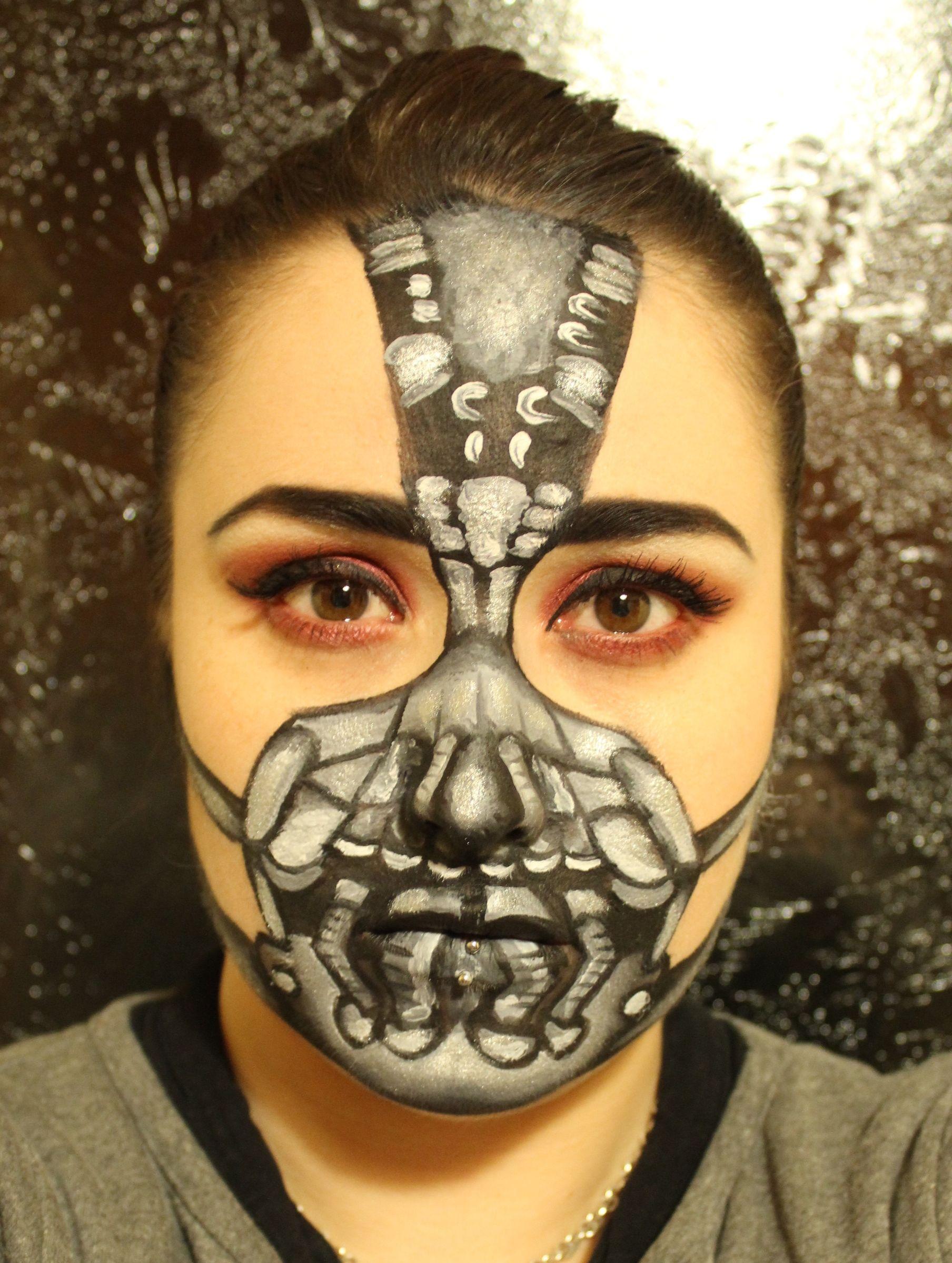 Mugeek Vidalondon: Bat Mask Makeup Tutorial