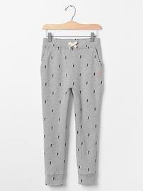 GapKids x ED bolt drop-waist pants