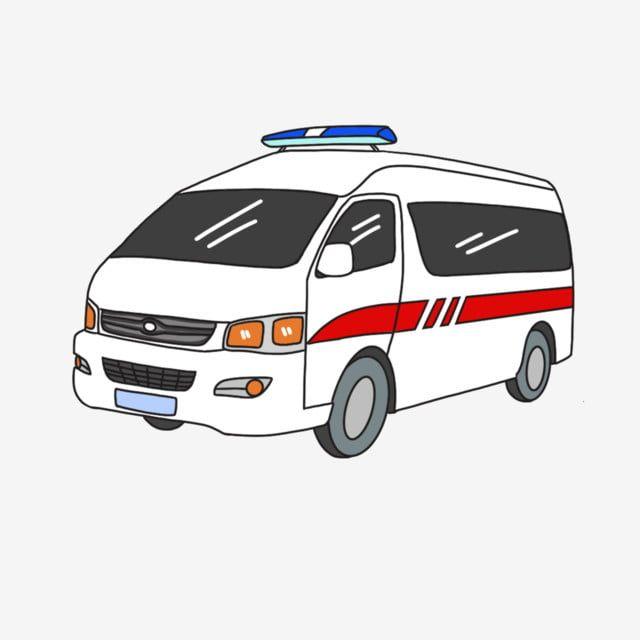 طبي مشبك تنبيه سيارة إسعاف سيارة طبية أربعة عجلات محاكاة مشبك مجاني رسوم متحركة إسعاف سيارة خط أبيض سيارة كبيرة In 2020 Car Ambulance Van