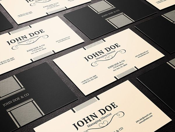 Free Business Card Psd Template 1 Ltheme Business Card Psd
