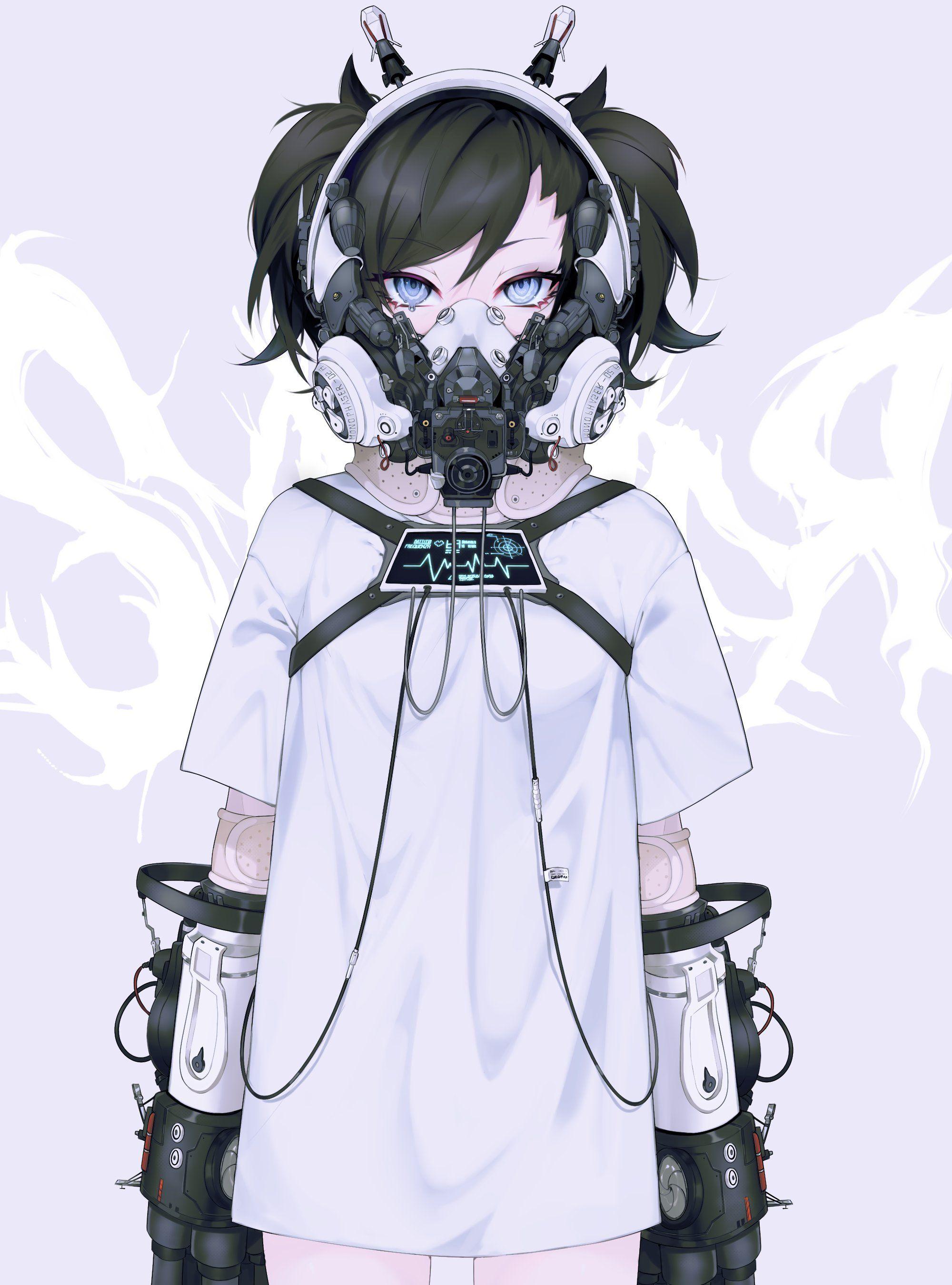 ONCHA*不適合 on Twitter in 2020 Cyberpunk girl, Cyberpunk