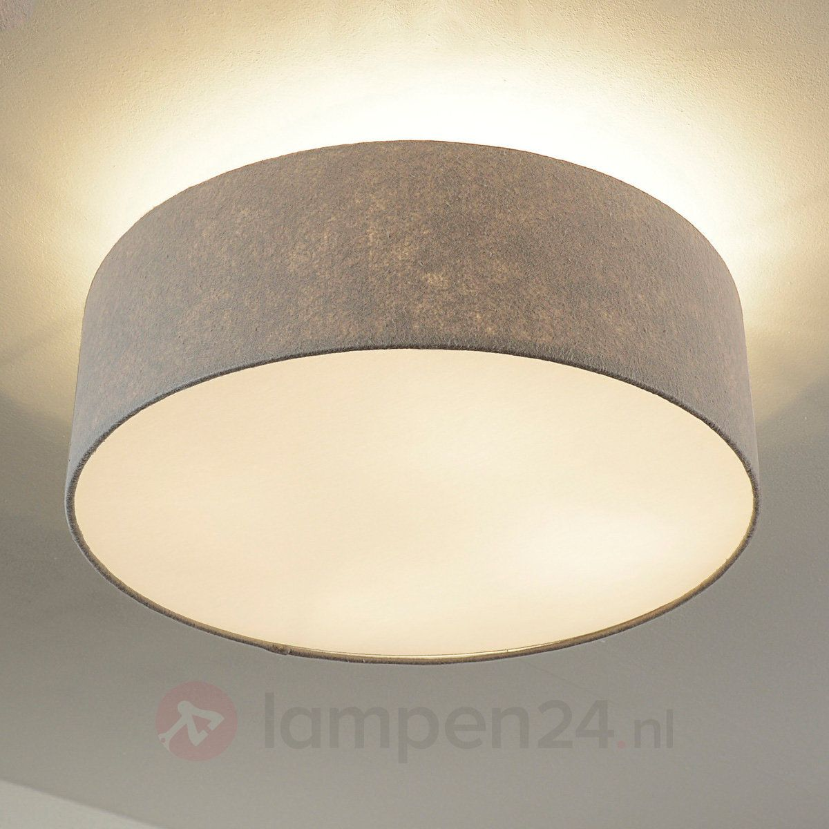 Amazon Deckenlampe Schlafzimmer #20: Deckenleuchte 71764 Modern Stoff Taupe Rund | Dream Home | Pinterest |  Taupe, Modern And Room