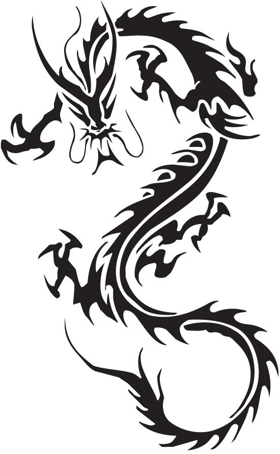 Chinese Dragon Png By Znaiguang On Deviantart Dragon Tattoos For Men Tribal Dragon Tattoos Dragon Tattoo