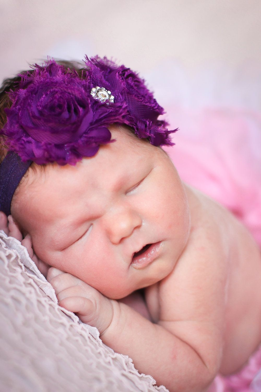 Rosette headbandtoddlerbaby girls headbands 1200