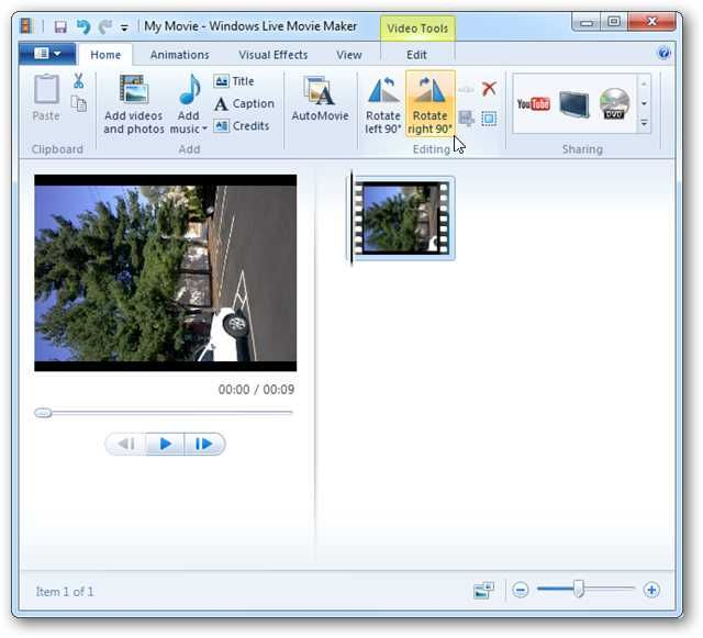 Rotate a video 90 degrees with vlc or windows live movie maker rotate a video 90 degrees with vlc or windows live movie maker have ccuart Choice Image