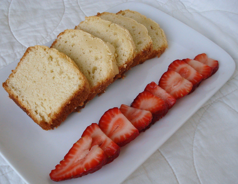 Pound Cake Loaf Recipes: Cream Cheese Pound Cake (mini Loaf)