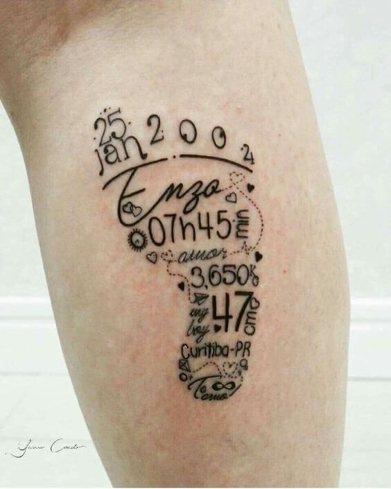 Photo of 50 names tattoos for women – tattoo motifs