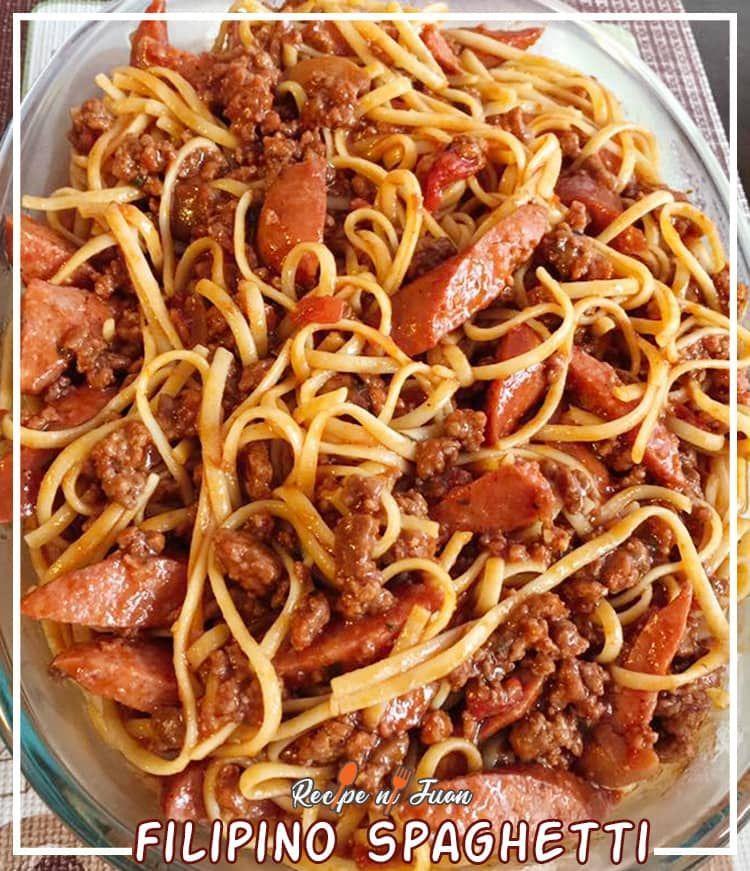 Filipino Spaghetti Filipino Spaghetti