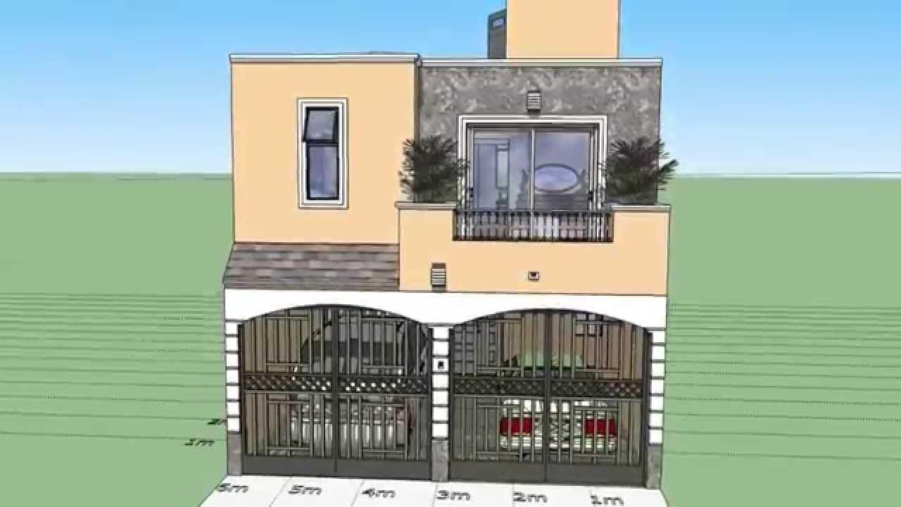 como dise ar una casa de 6x15 mts de terreno On como disenar una casa pequena moderna