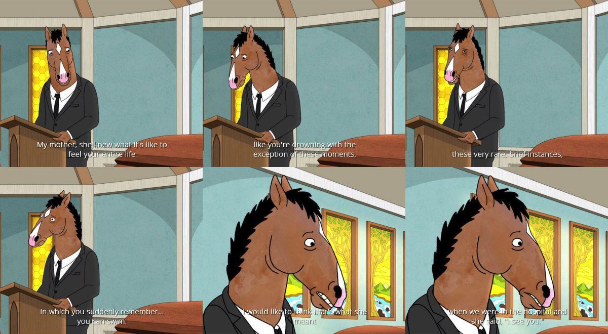Bojack Horseman S05 Ep 6 Free Churro Bojack Horseman Horseman Will Arnett