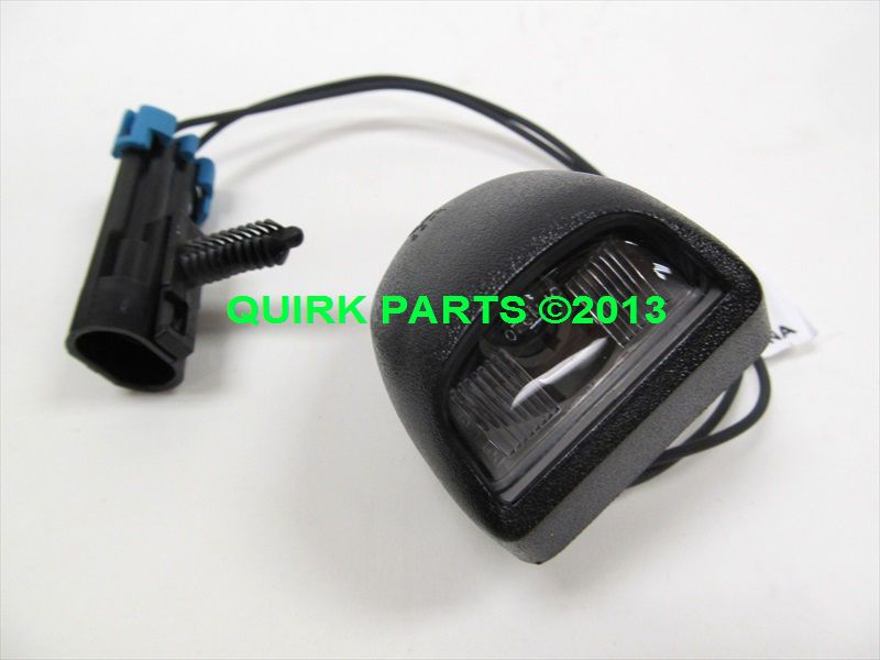 Details About Oem New Rear License Plate Light Lamp W