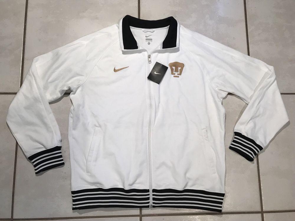 b6ead0ebd NWT NIKE Pumas Unam WHITE Track Jacket Men s Large