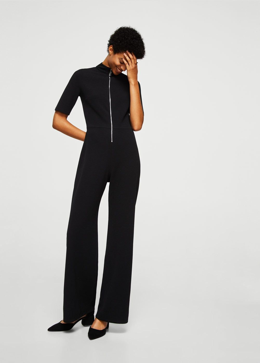 05a2dfaea0 Zip long jumpsuit - Women