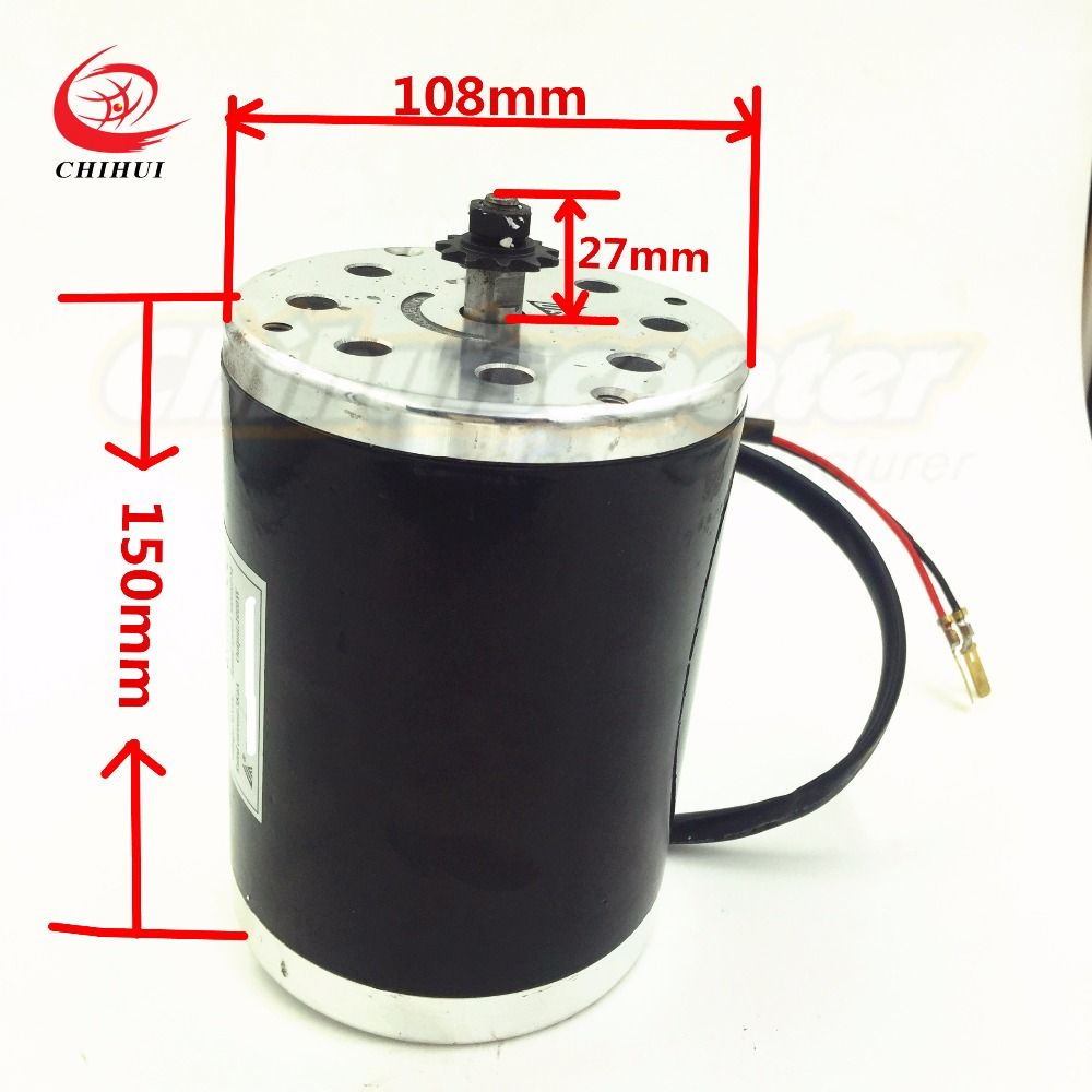High Quality Electric Scooter Motors 800W 36V Brushed DC