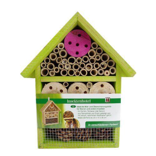 """""""Insektenhotel Insektenhaus Bienen Florfliegen Marienkäfer Käfer Grün"""" jetzt hier kaufen: http://insektenhotel-kaufen.de/insektenhotel/insektenhotel-insektenhaus-bienen-florfliegen-marienkaefer-kaefer-gruen/"""