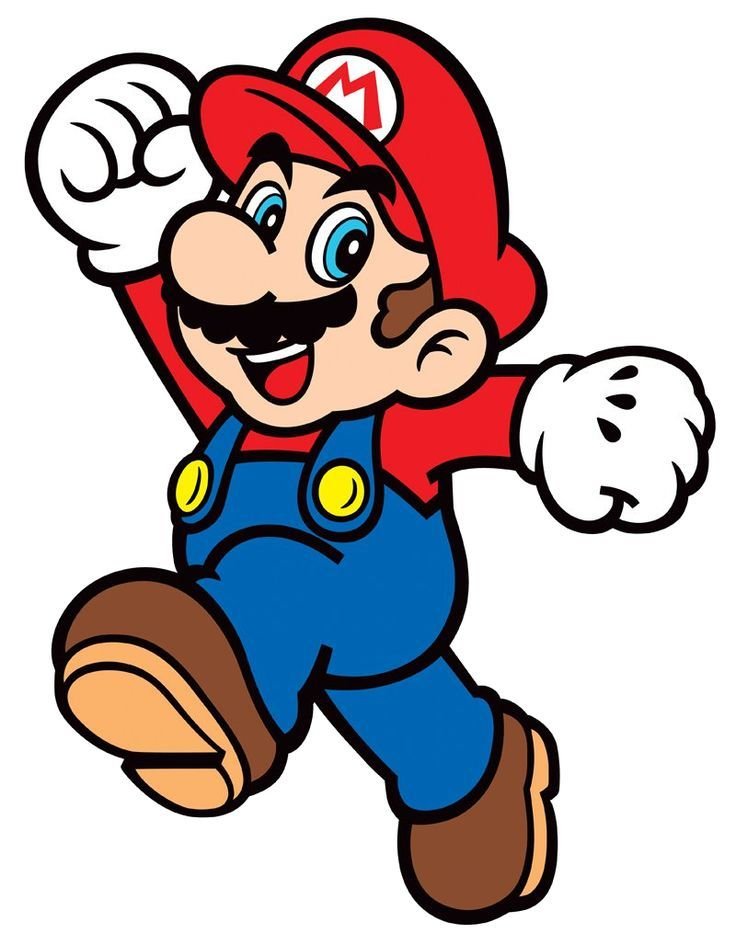 Mario simple PNG Image.