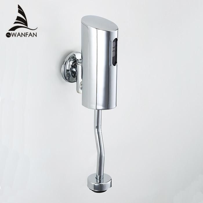 AS Free Automatic Urinal Flush Valve Bathroom Faucets Mixer Tap Wall Mounted