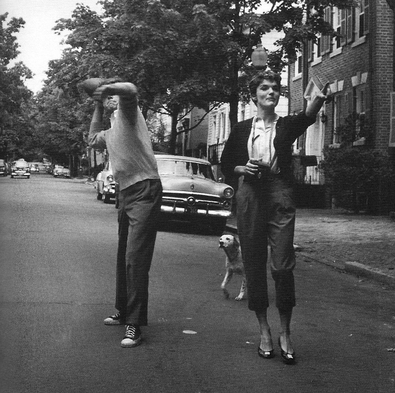 Jack and Jacqueline Kennedy (1954)
