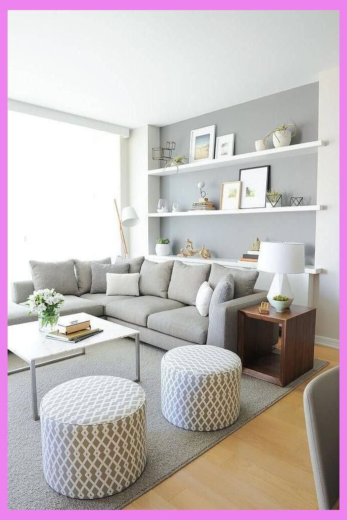 50 Best Small Living Room Design Ideas For 2019 | Small ...