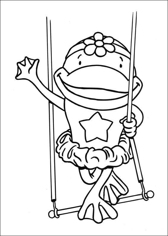Dibujos para Colorear Jo Jo\'s Circus 16 | Dibujos para colorear para ...