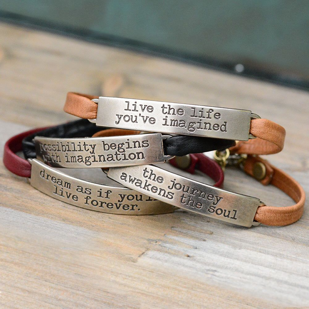 wrap listing stamped zoom inspirational motivational fullxfull bracelet quote il en sg