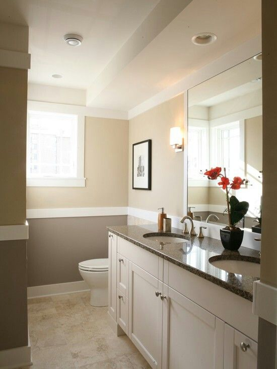 Farben fürs Badezimmer Badezimmer Pinterest House remodeling