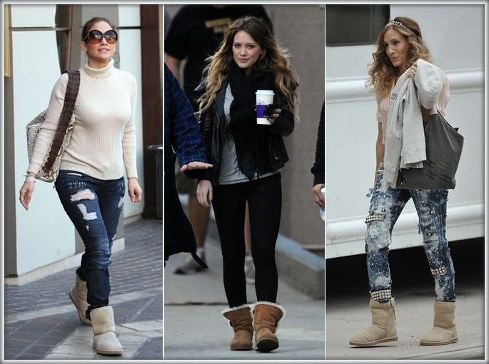 Celebrity In Love With Ugg Boots