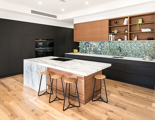With pantonegreenery being a big trend this year why not for Walls brothers designer kitchens