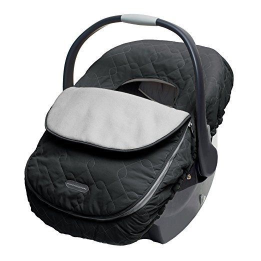 JJ Cole Car Seat Cover Black I Have A Pink One Lol