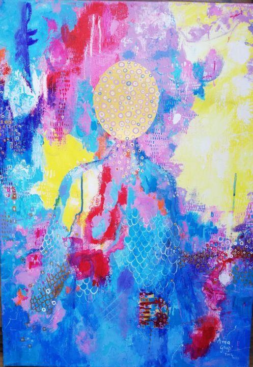 Peinture par Anna Grazi (France)   Artmajeur en 2020   Art ...