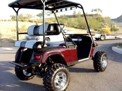 Gorgeous 09 Ez Go Monster Lifted 24hp V Twin Golf Cart