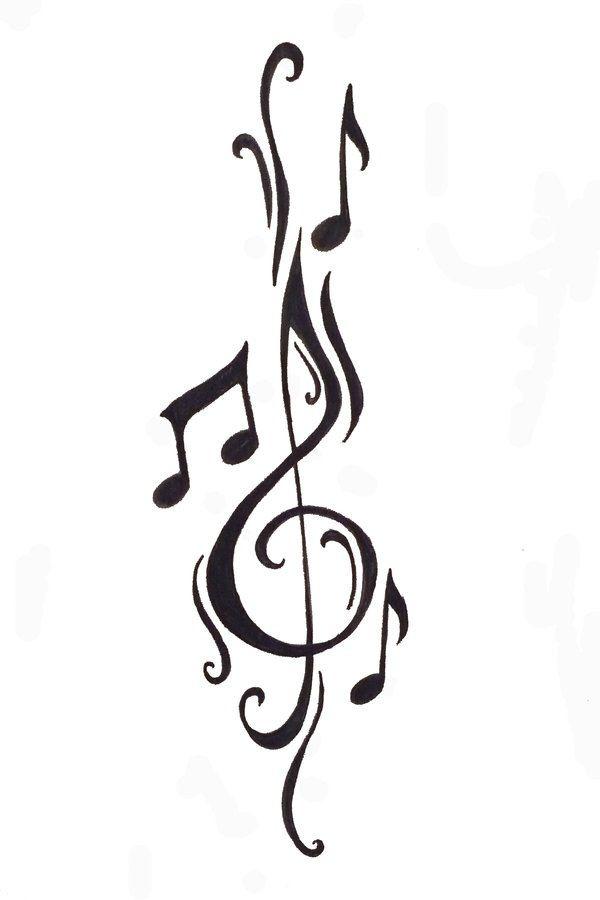 Musical Notes Musica Pinterest Tatuaje Musica Musica Y Tatuajes