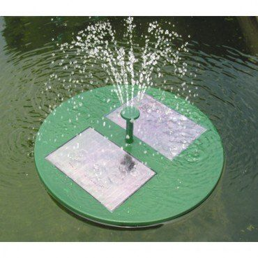Floating Solar Fountain Pump With Filter For Pond Garden 640 x 480