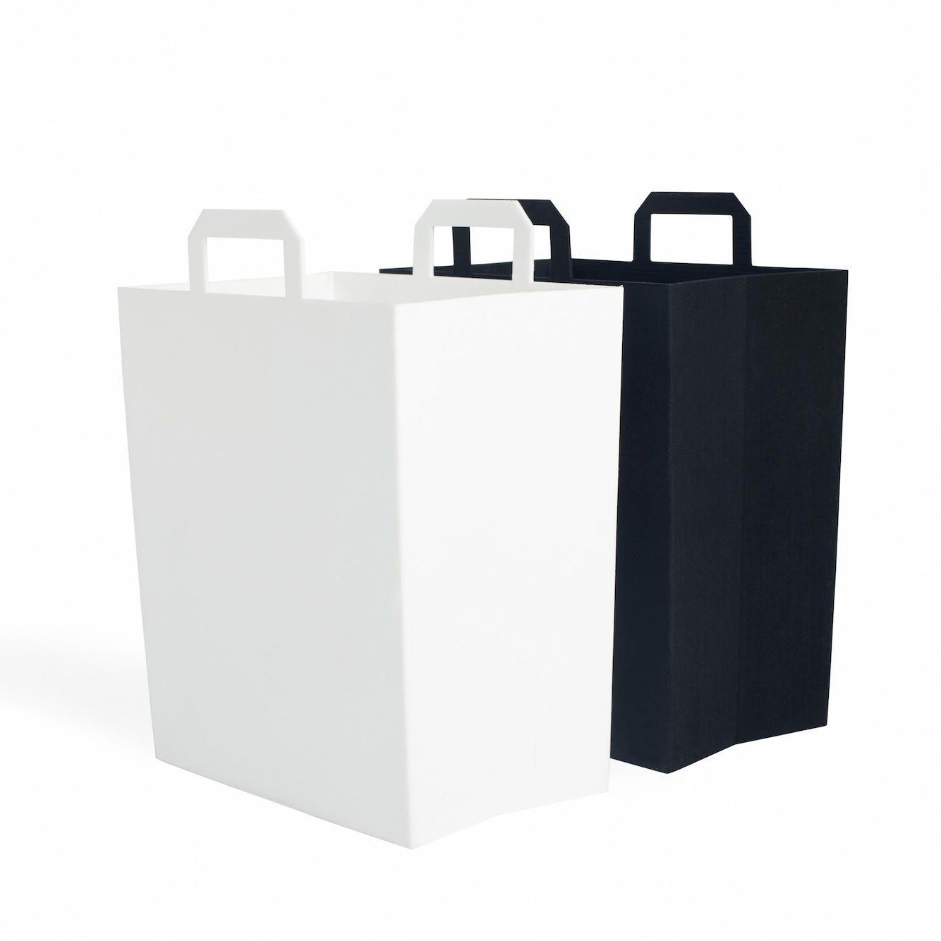 Modern Recycling Bin Set