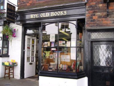 Bookstore in Sussex, England