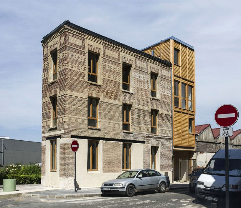 Atelier Ramdam Extends And Renovates Historic Au Bon Coin In France Architecture