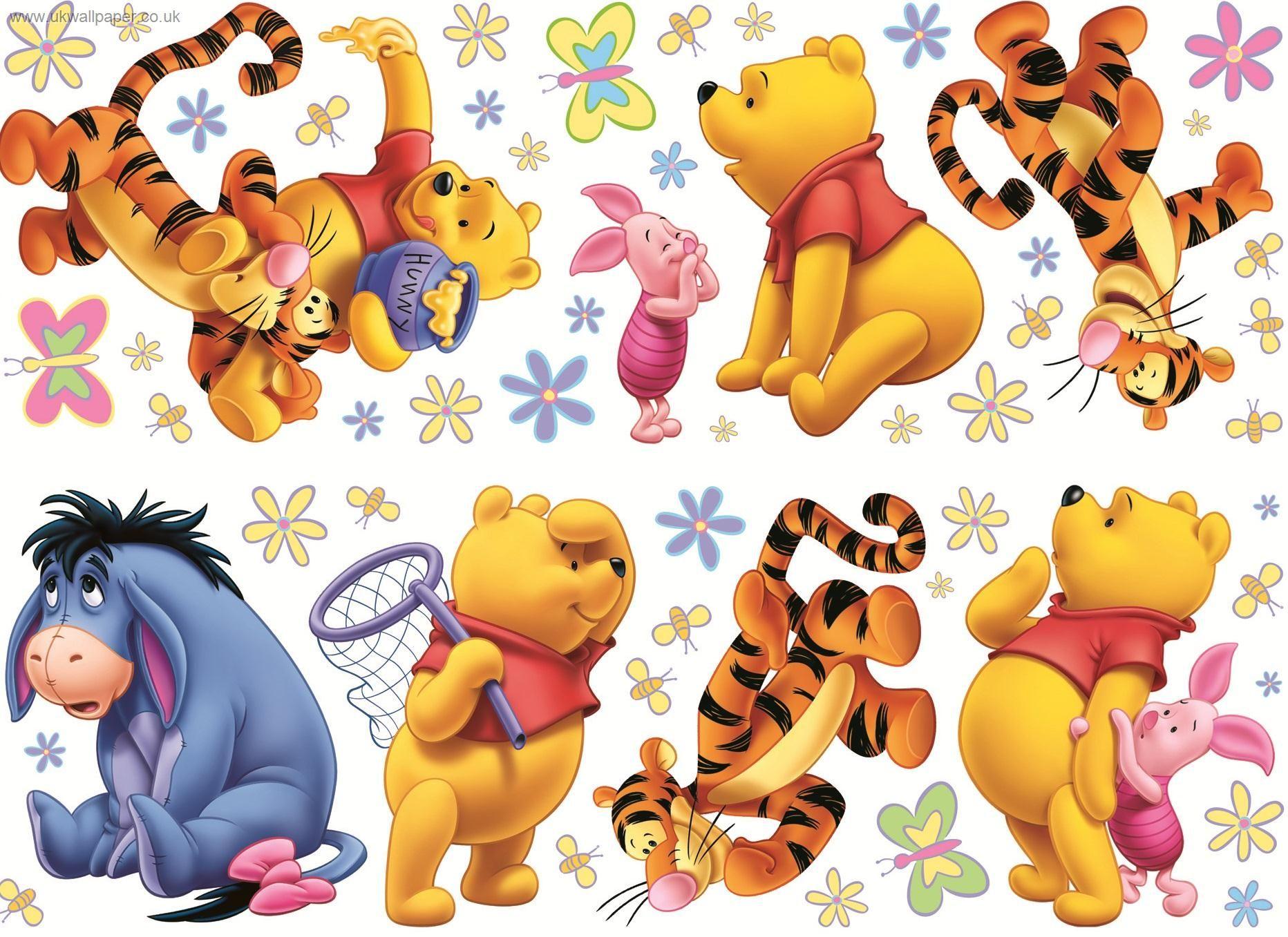 Eur 6,90 a eur 19,90 +eur 6,90 di spedizione. Winnie The Pooh Wall Stickers Df40223b Winnie The Pooh