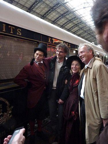 Orient Express passengers