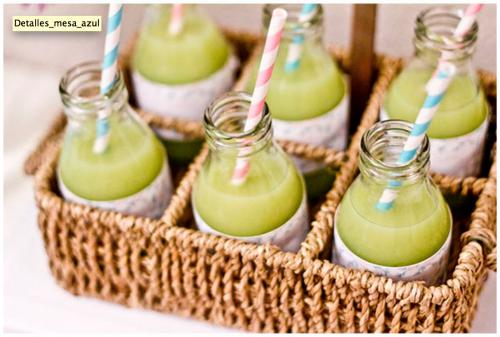 C mo decorar botellas de vidrio para servir bebidas blog - Decorar botellas de cristal ...