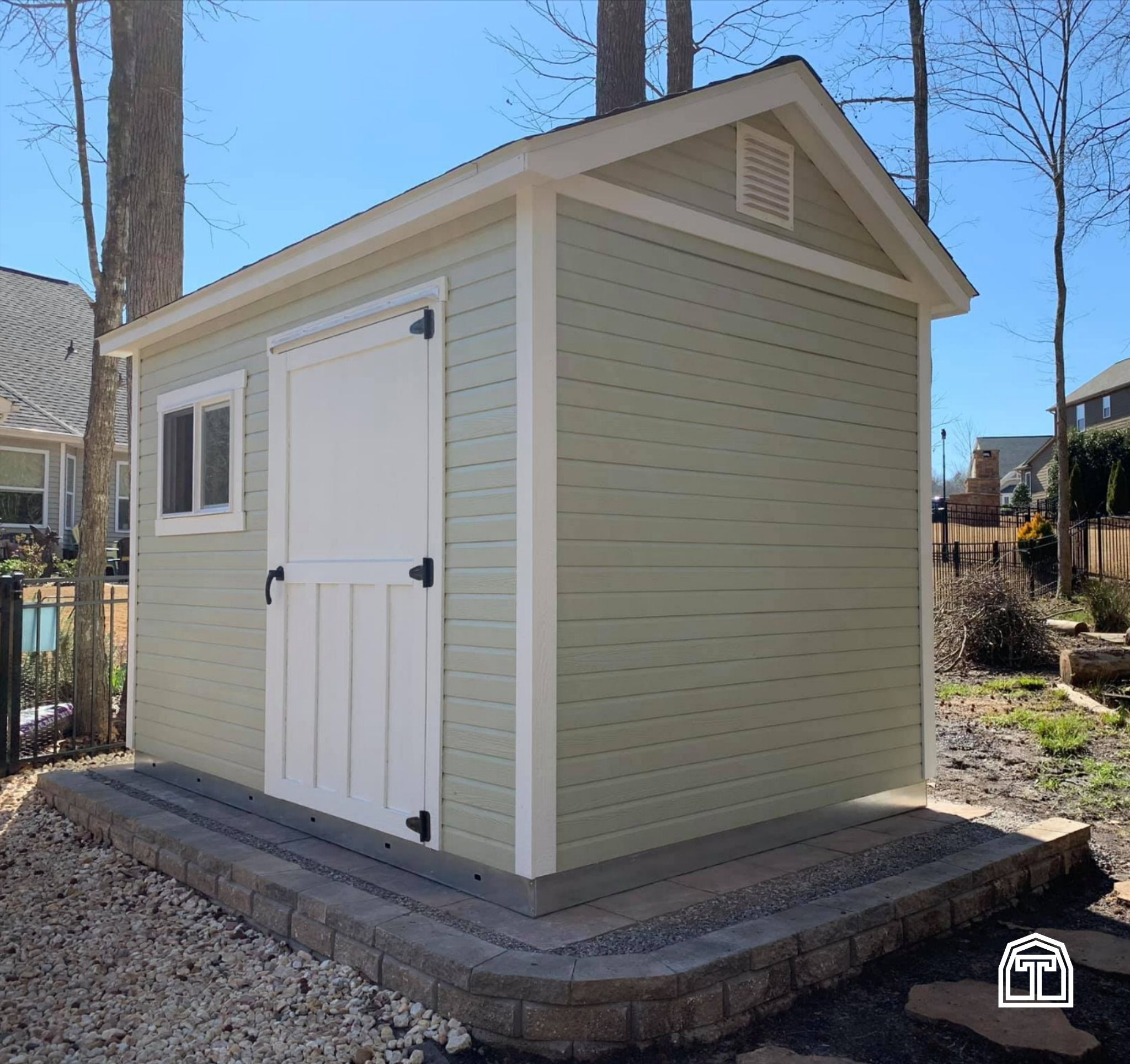Storage Shed Construction In 2020 Shed Cottage Style Seasonal