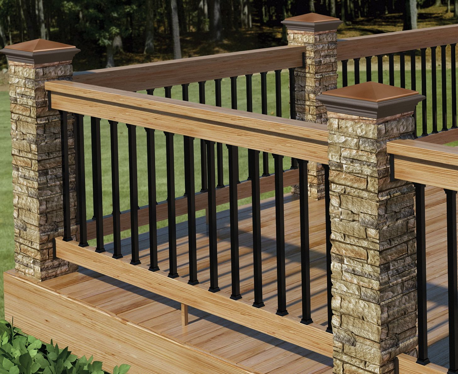 Best Deck Railing Design Ideas Pictures Jpg 1456×1189 Deck 400 x 300