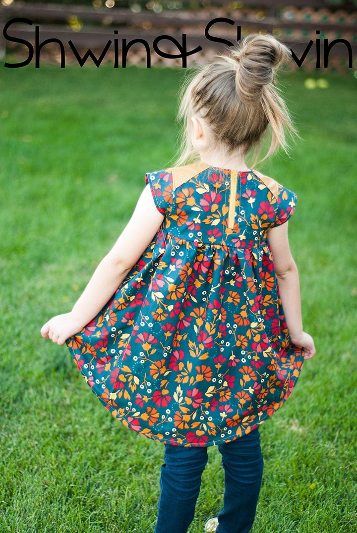 Modern Baby Doll Top Little girl dresses, Sewing kids