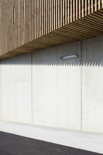 Cultural Center In Nevers Ateliers O S Architectes Facade