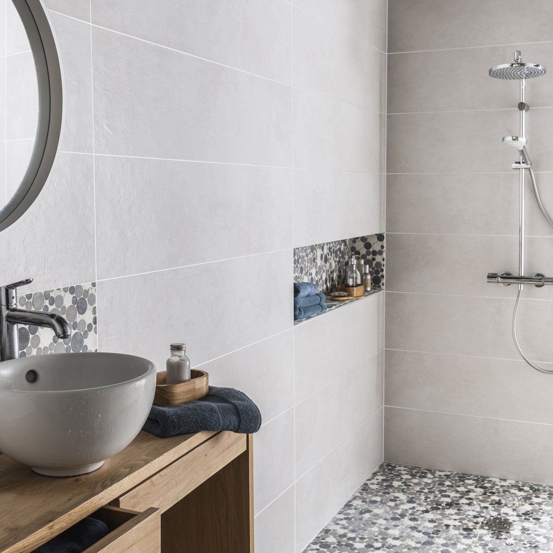 Carrelage sympa et niche carrel salle de bain for Carrelage sol sdb