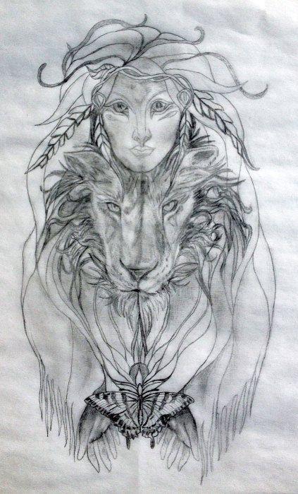 new shaman sacred tattoo design