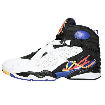 Nike Jordan 8 VIII Retro Three Peat Ps Little Kids 305369142 Shoes Youth Sz