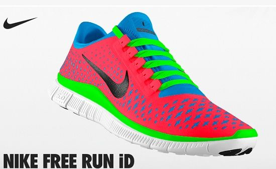 nike colorful running shoes